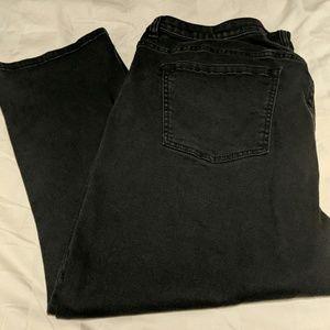 Denim Capri pants, Low rise super stretch